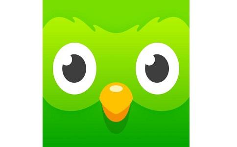 多邻国Duolingo段首LOGO