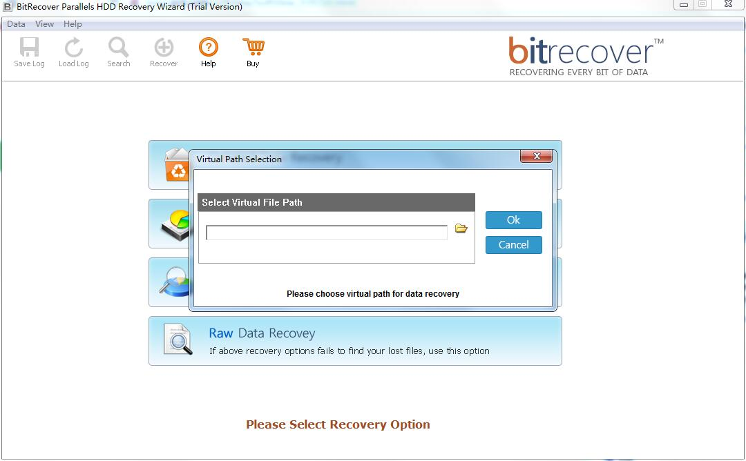 BitRecover Parallels HDD Recovery Wizard截图1