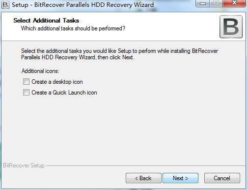 BitRecover Parallels HDD Recovery Wizard截图
