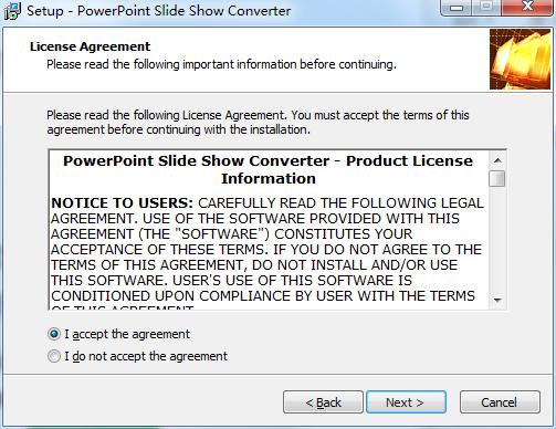PowerPoint Slide Show Converter截图