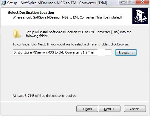 MDaemon MSG to EML Converter截图