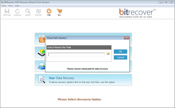 BitRecover VHD Recovery Wizard截图1