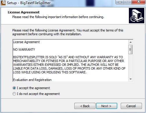 Big Text File Splitter截图