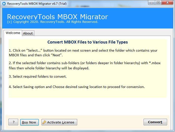 MBOX Migrator截图1