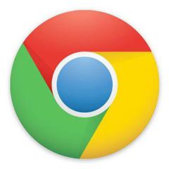 谷歌浏览器mac版段首LOGO