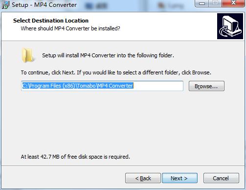 Tomabo MP4 Converter截图