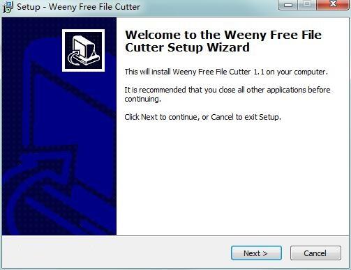 Weeny Free File Cutter截图