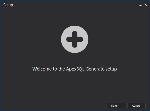 ApexSQL Generate截图