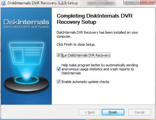 DiskInternals DVR Recovery截图