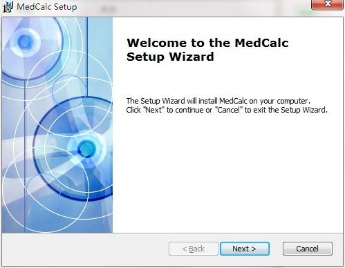 MedCalc截图