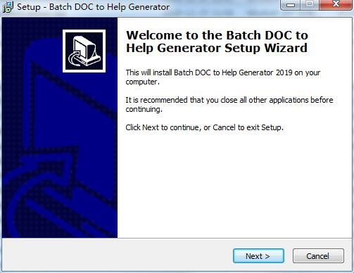 Batch DOC to Help Generator截图
