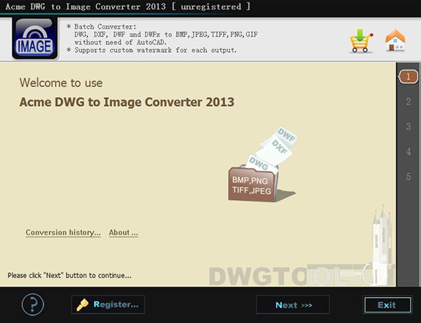 Acme DWG to Image Converter截图
