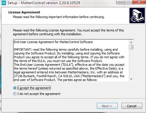 MatterControl截图