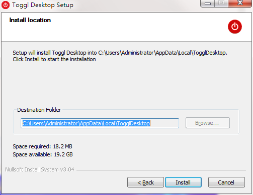 Toggl Desktop截图