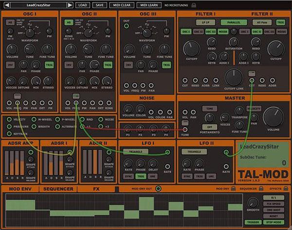 Togu Audio Line TAL-Mod截图1