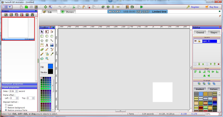 Yasisoft GIF Animator截图1