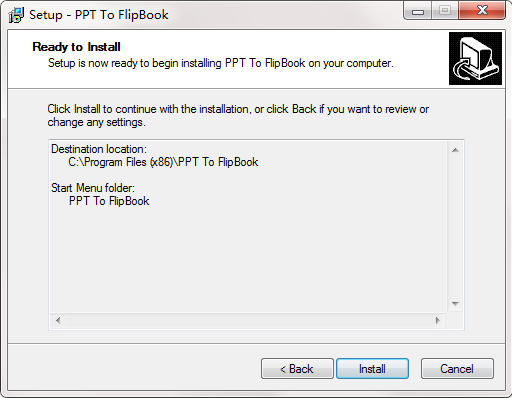 PPT to FlipBook截图