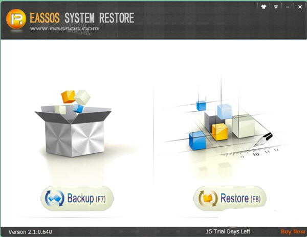 Eassos System Restore截图