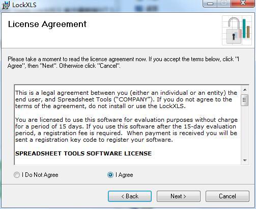 Spreadsheet Tools LockXLS截图