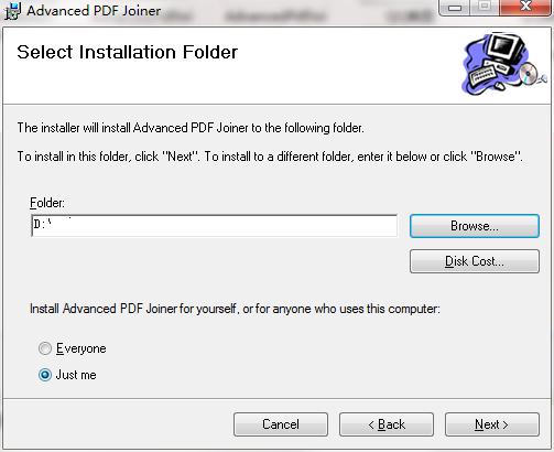 Advanced PDF Joiner截图