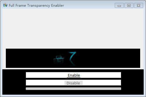 Full Frame Transparency Enabler