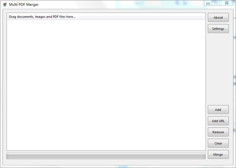 Multi PDF Merger截图