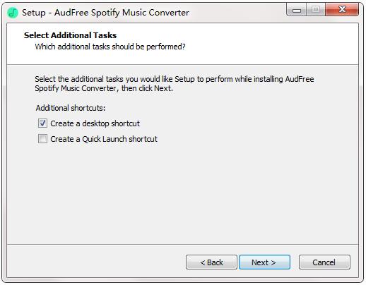 AudFree Spotify Music Converter截图
