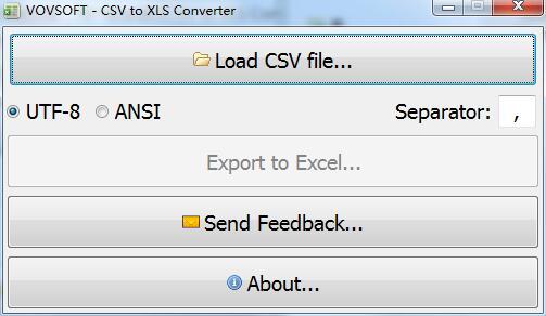 CSV to XLS Converter截图1