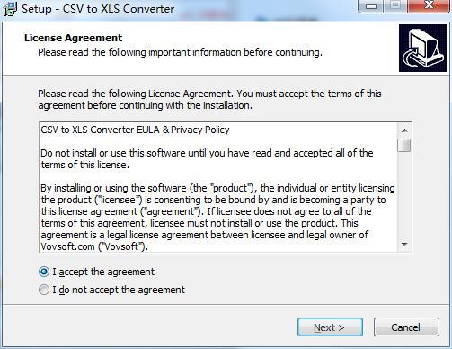 CSV to XLS Converter截图