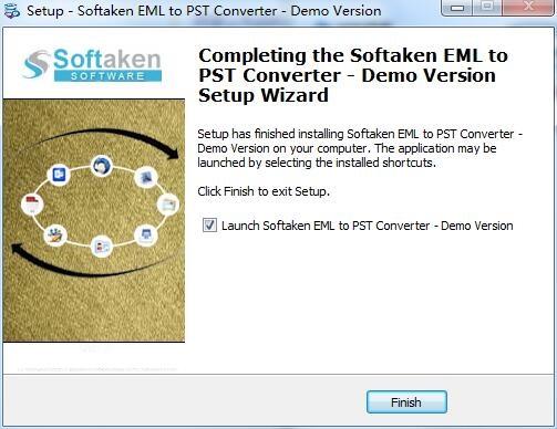 Softaken EML to PST Converter截图