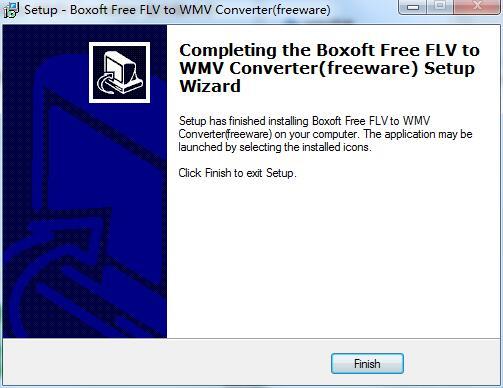 Boxoft FLV to WMV Converter截图