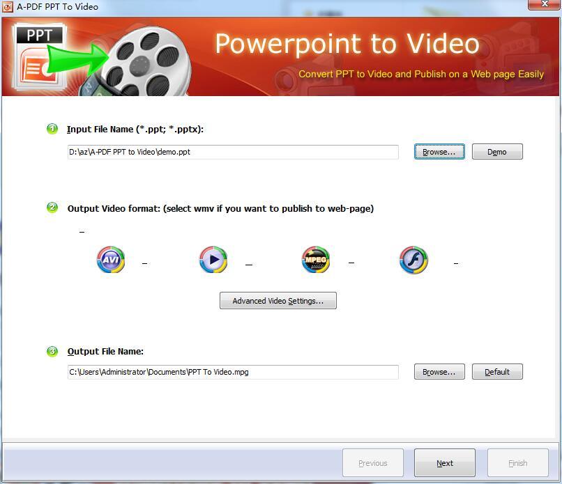 A-PDF PPT to Video截图1