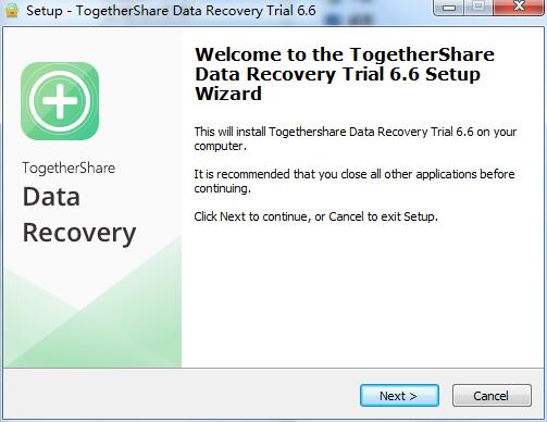 TogetherShare Data Recovery截图