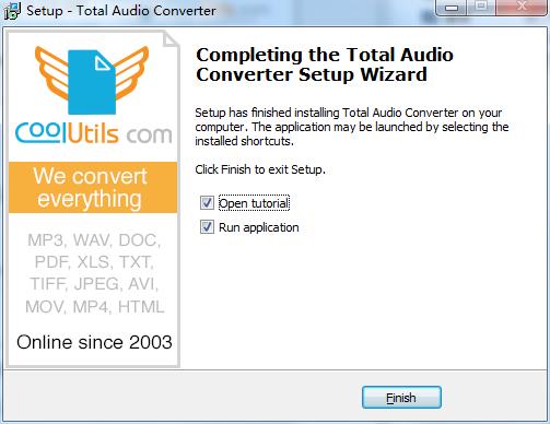 万能音频转换器(Total Audio Converter)截图