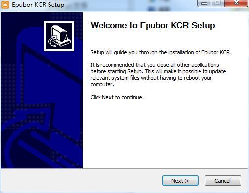 Epubor KCR Converter截图