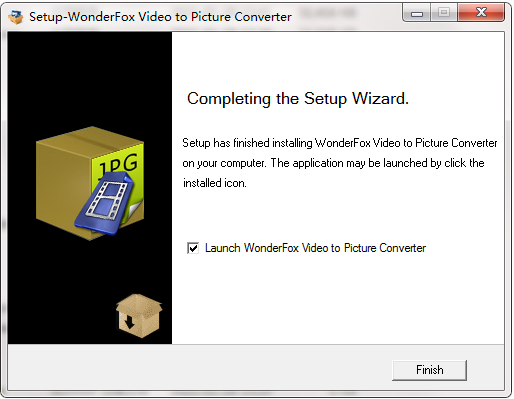 WonderFox Video to Picture Converter截图