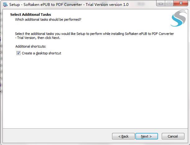 Softaken ePUB to PDF Converter截图