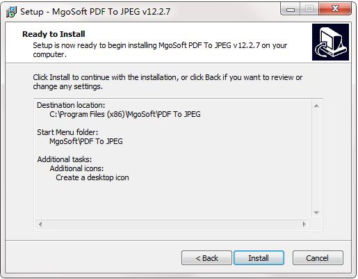 Mgosoft PDF To JPEG Converter截图