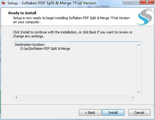 Softaken PDF Split Merge截图