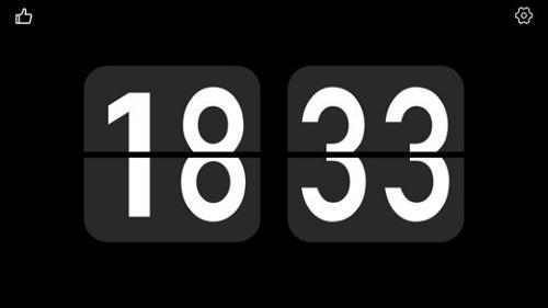 翻页时钟:Flip Clock截图1