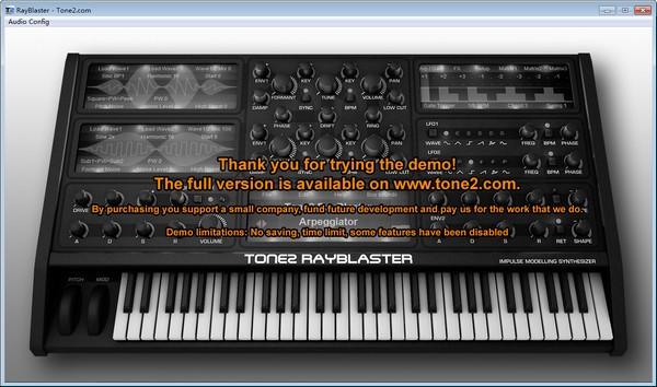 Tone2 RayBlaster截图1