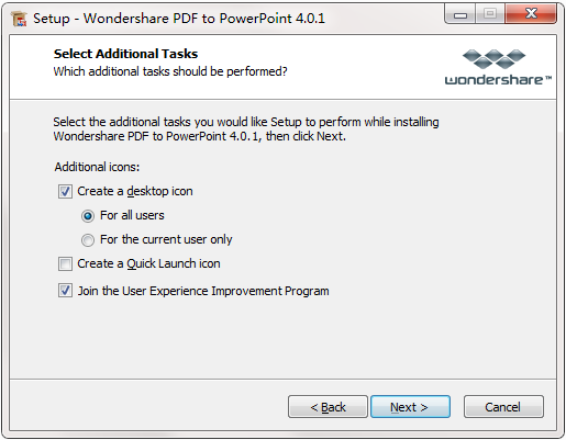 Wondershare PDF to PowerPoint Converter截图