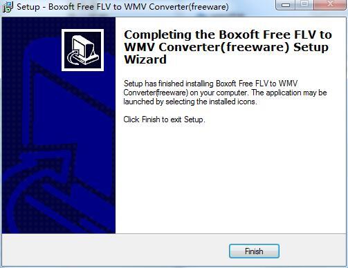 Boxoft Free FLV to WMV Converter截图