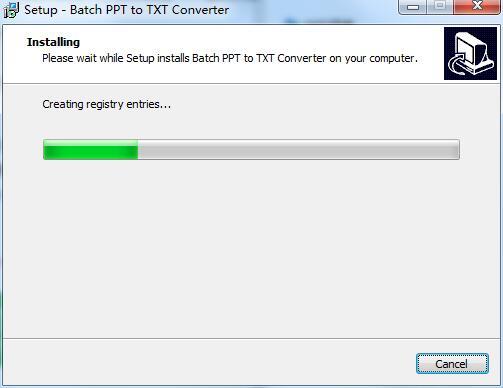 Batch PPT to TXT Converter截图