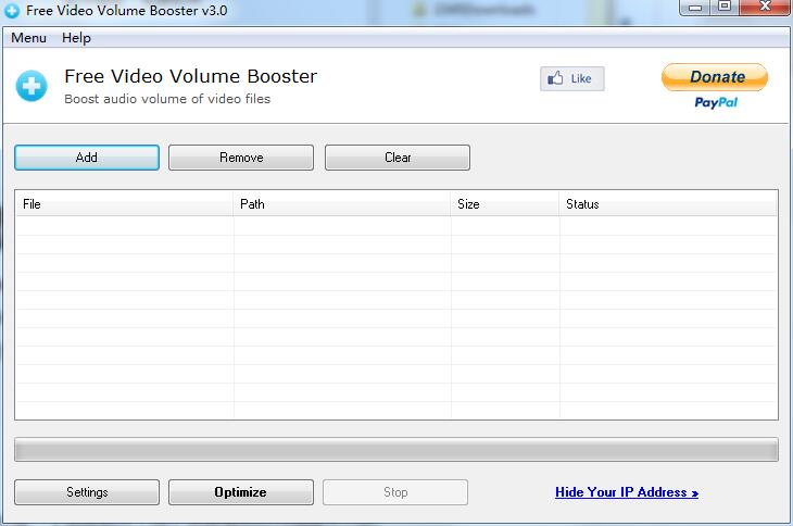 Free Video Volume Booster截图1