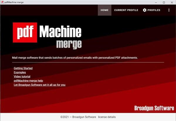 pdfMachine merge截图1