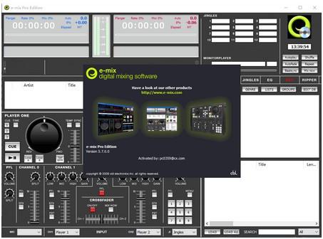 CBL E-Mix Pro Edition