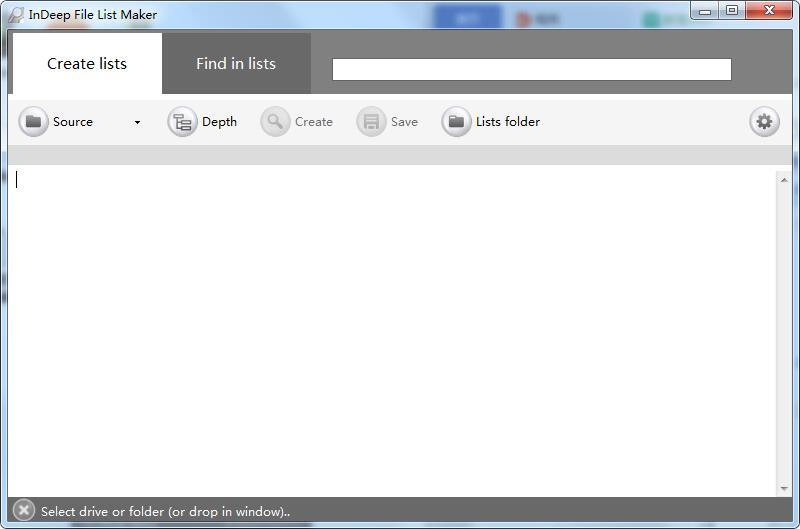 InDeep File List Maker截图
