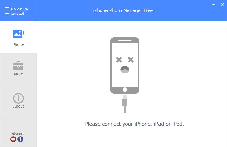 iPhone Photo Manager Free截图