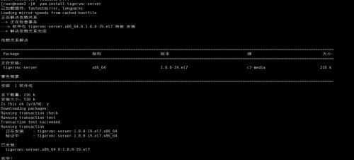 tightvnc连接linux服务器